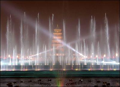 西安游:大雁塔北广场