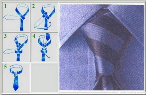 打领带的方法 图解