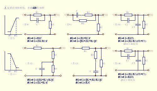 电路的频率特性