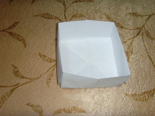 叠纸盒的方法图解 叠纸盒图解