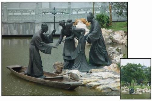 主题说明:《白蛇传》是中国四大民间传说之一,与杭州有着密切的