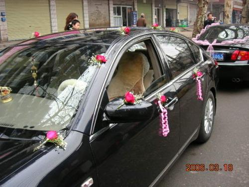 主婚车由我来负责,还有后面7辆副花车呢?图片