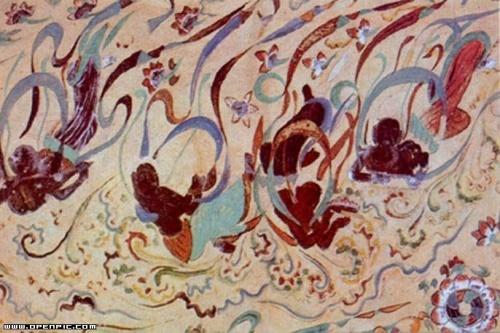 敦煌壁画花纹装饰