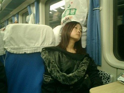 坐火车的感觉