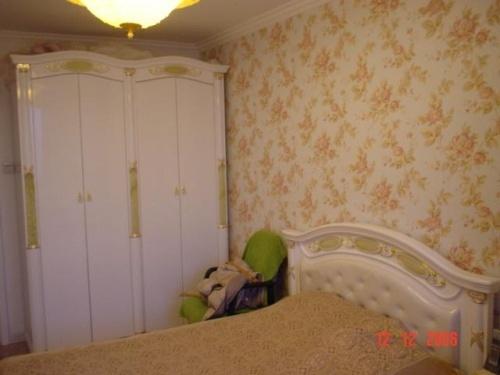 卧室单面墙贴墙纸