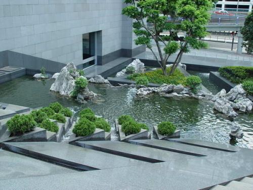 贝聿铭建筑作品欣赏之香港中银大厦-小妖-我的搜狐