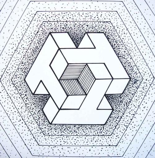 关于平面构成的矛盾空间构成