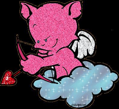 你立刻就想到一头粉红色的大笨象了.