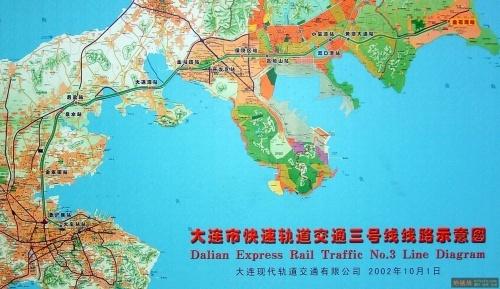 青岛地铁三号线沿途景点