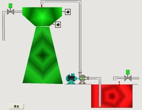 水塔水位plc控制与监控组态设计