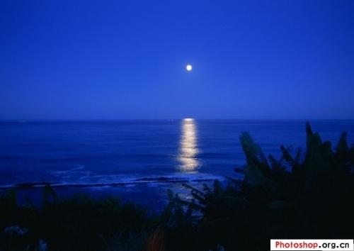 那醉人的明月,那滟滟的湖水,那洁净的天空,那汀上的白沙,诗人用唯美