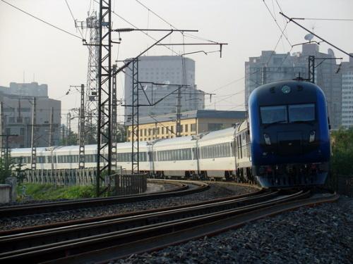 我最喜欢的火车 t158 哈尔滨-北京-泰州