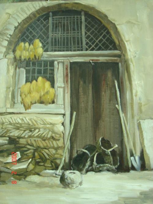 <老窑洞>>       分类:油画作品   |   标签:     风景