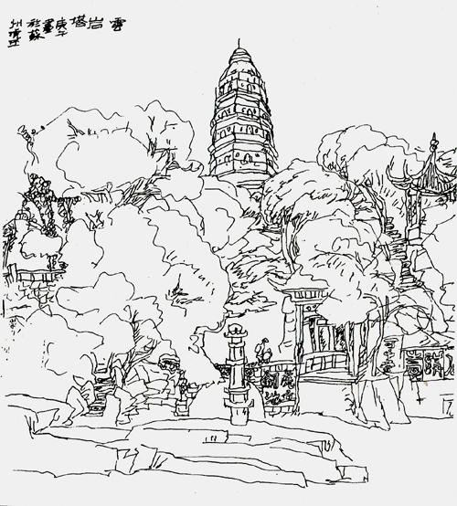 标签:     风景写生                       王继平风景速写之二图片