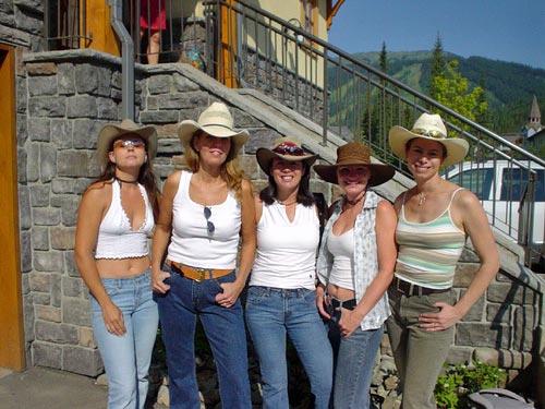 加拿大美女加拿大 美女美国西部牛仔美女西部牛仔女