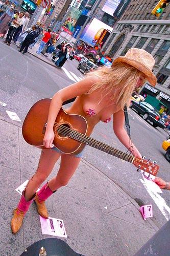 :加拿大西部美女牛仔写真