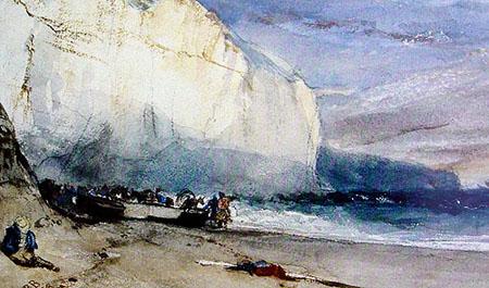 这是我为了学习水彩画而收藏的一本英国水彩画册